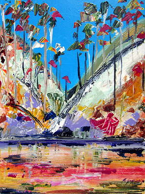 Painting - Australian Reflections by Roberto Gagliardi