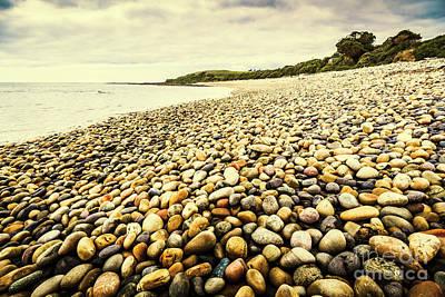 Seashore Wall Art - Photograph - Australian Rocky Shoreline by Jorgo Photography - Wall Art Gallery