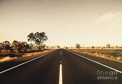 Australian Rural Road Art Print by Jorgo Photography - Wall Art Gallery