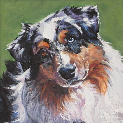 Painting - Australian Shepherd by Lee Ann Shepard