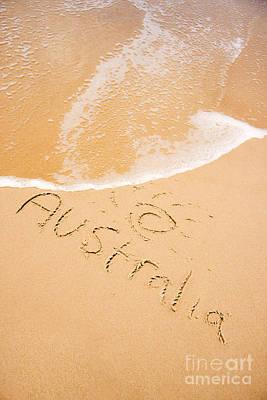 Australian Shoreline Art Print