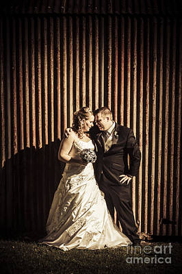 Photograph - Australian Summer Wedding At Outback Country Scene by Jorgo Photography - Wall Art Gallery