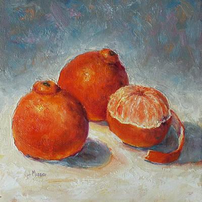 Painting - Australian Tangelos by Jill Musser