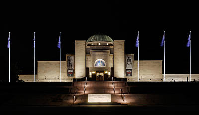 Photograph - Australian War Memorial by Nicholas Blackwell