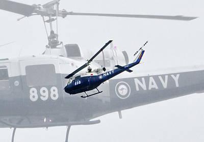 Photograph - Australian Warbird Bell Uh-1b Iroquois by Miroslava Jurcik