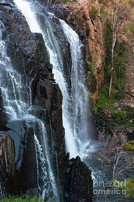 Photograph - Australian Waterfall Grampians by Andrew Michael