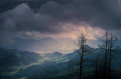 Photograph - Austrian Alps by Allin Sorenson