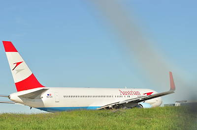 Photograph - Austrian Airlines by Puzzles Shum