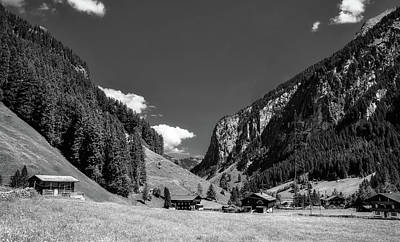 Photograph - Austrian Alpine Valley by Pixabay