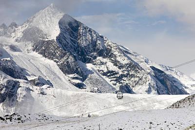 Mountain Photograph - Austrian Alps by Alex Saunders
