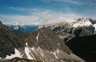 Photograph - Austrian Alps On A Sunny Day by Patrick Murphy