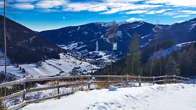 Photograph - Austrian Alps Scenery In Carinthia by Brch Photography