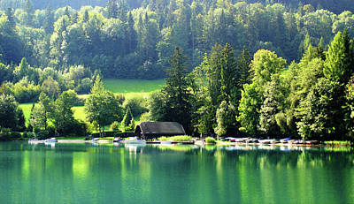 Photograph - Austrian Lake by Kathy Kelly