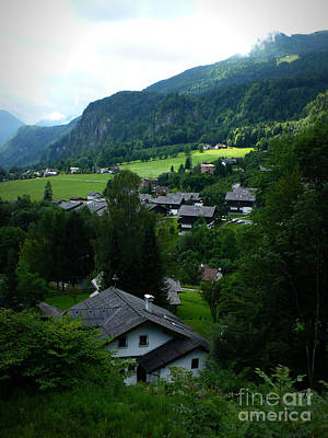 Photograph - Austrian Landscape by Carol Groenen