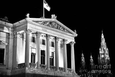 Photograph - Austrian Parliament Building by John Rizzuto