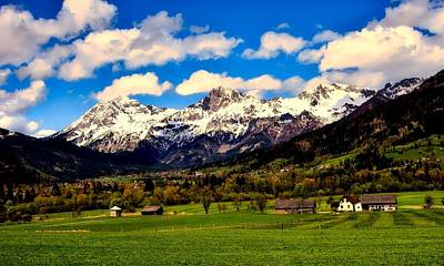 Photograph - Austrian Valley by Pixabay