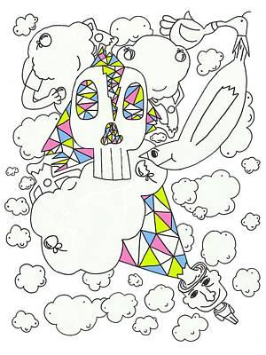 Daydreams Art Drawing - Autistic Daydream by Ty Tagliapietra