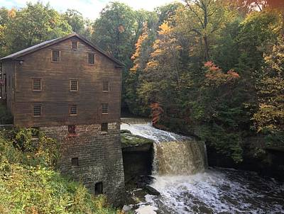 Photograph - Autumn At The Mill by Heidi Moss