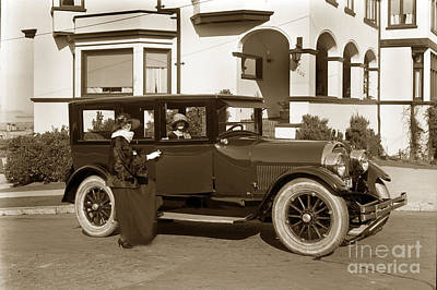 Photograph - Auto Automobile 1926 by California Views Archives Mr Pat Hathaway Archives