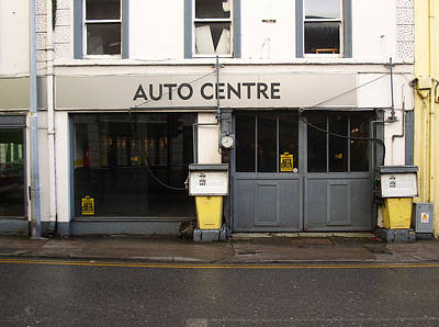 Photograph - Auto Centre by Tim Nyberg