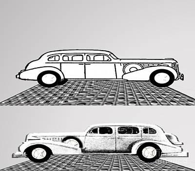 Painting - Auto Classics by Belinda Threeths