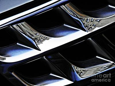 Photograph - Auto Grill 19 by Sarah Loft