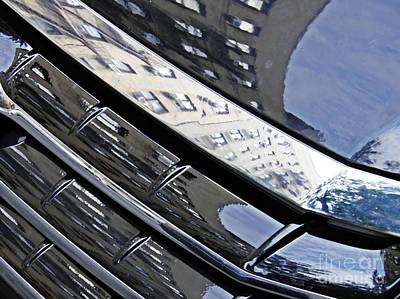 Photograph - Auto Grill 3 by Sarah Loft