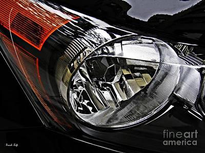 Photograph - Auto Headlight 177 by Sarah Loft