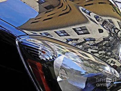 Photograph - Auto Headlight 178 by Sarah Loft
