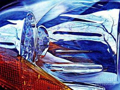 Photograph - Auto Headlight 181 by Sarah Loft