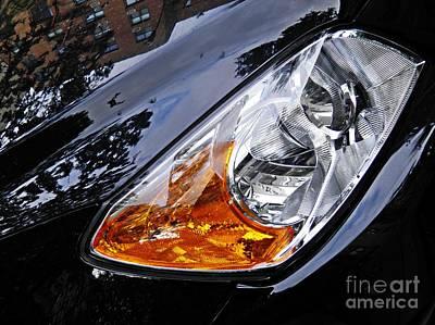 Photograph - Auto Headlight 183 by Sarah Loft