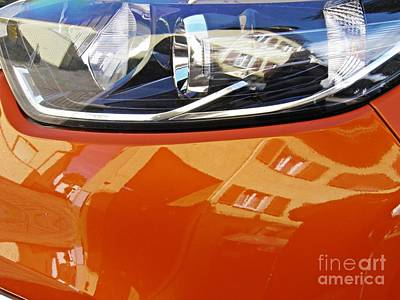 Photograph - Auto Headlight 186 by Sarah Loft