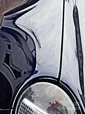 Photograph - Auto Headlight 188 by Sarah Loft