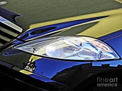 Photograph - Auto Headlight 189 by Sarah Loft