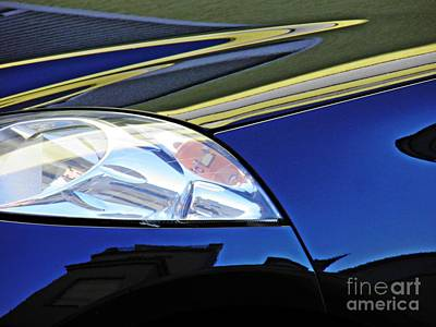 Photograph - Auto Headlight 190 by Sarah Loft