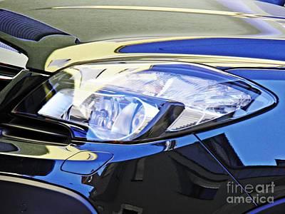 Photograph - Auto Headlight 191 by Sarah Loft