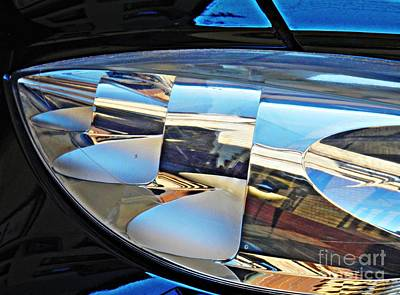 Photograph - Auto Headlight 193 by Sarah Loft