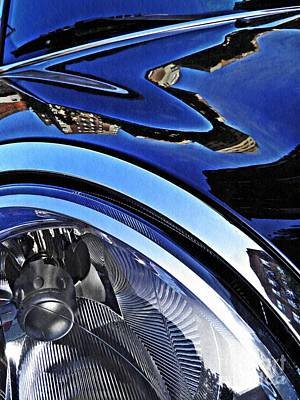 Photograph - Auto Headlight 27 by Sarah Loft