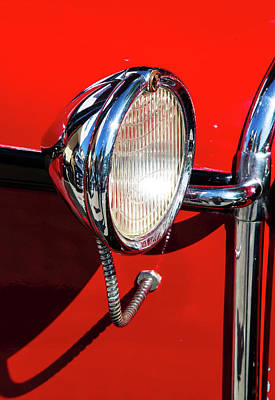 Photograph - Auto Headlight by Arthur Dodd