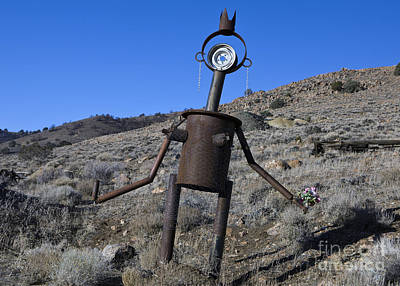 Gaugin Rights Managed Images - Auto parts sculpture Royalty-Free Image by Jason O Watson