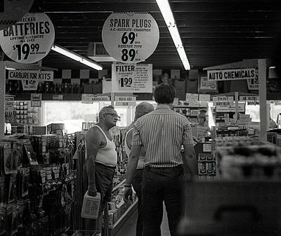 Photograph - Auto-parts Store, 1972 by Jeremy Butler