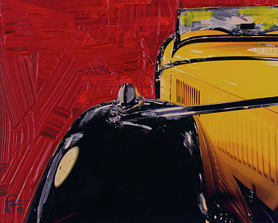 Photograph - Automotive Abstract No 8 by Walter Fahmy