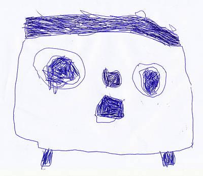Autoportrait Original by Amadeus Kovac