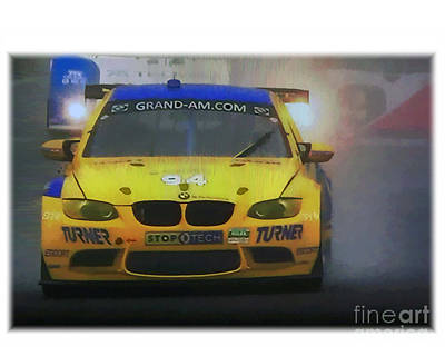 Bmw Racing Car Photograph - Autoracing7 by Tom Griffithe