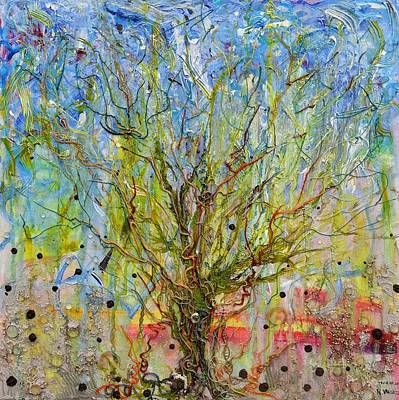 Painting - Autotroph Tree Of Life 1 by Regina Valluzzi