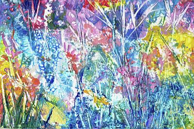 Painting - Auttumn Glory by Jean Batzell Fitzgerald