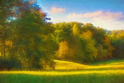 Lightscape Painting - Autumn Light by Lutz Baar