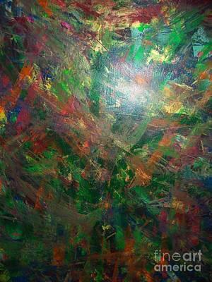 Autum Forrest 1 Art Print