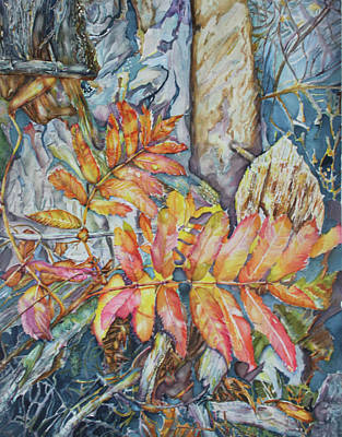 Painting - Autum Magic by Christiane Kingsley