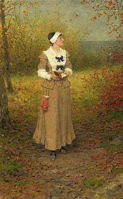 Painting - Autumn 2 by George Henry Boughton
